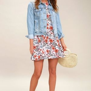 Floral Lulus casual dress